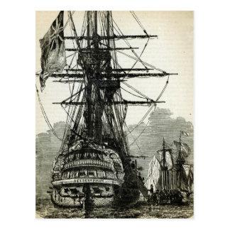 Napoléon se rendant pour captain Maitland Carte Postale