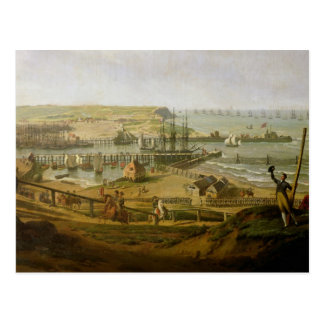 Napoléon visitant le camp à Boulogne Carte Postale