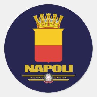 Napoli (Naples) Sticker Rond