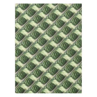Nappe Buisson vert topiaire ornemental d'escargot de