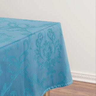 Nappe Damassé fascinante moderne vintage de turquoise