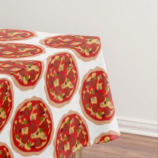 Nappe de dîner de motif de pizza de pepperoni