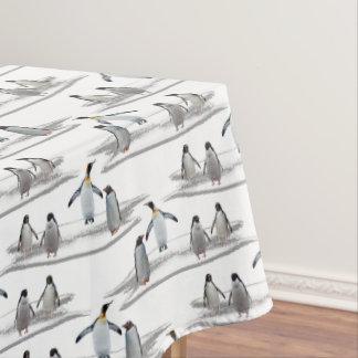 Nappe de partie d'iceberg de pingouin
