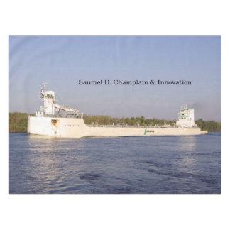 Nappe de Samuel D. Champlain et d'innovation