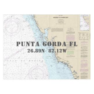 Nappe Latitude nautique Punta Gorda la Floride de