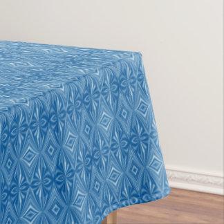 Nappe Motif bleu unique élégant à la mode