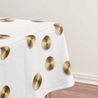 Nappe Motif d'or de cercles