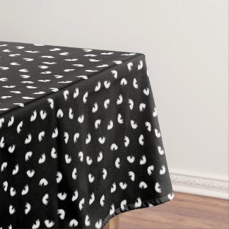 Nappe Motif MIGNON de chat noir et blanc