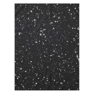 Nappe Parties scintillantes Stars2 - Noir argenté