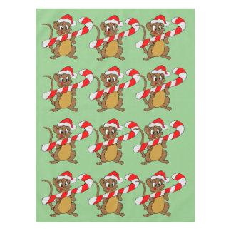 Nappe Souris avec du sucre de canne de Noël