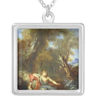 Narcisse, 1728 pendentif carré