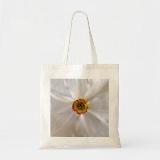 narcisse de blanc de perle sac en toile