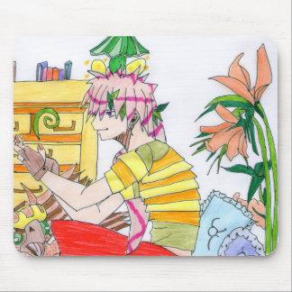 Narcisse , le griffonier. tapis de souris