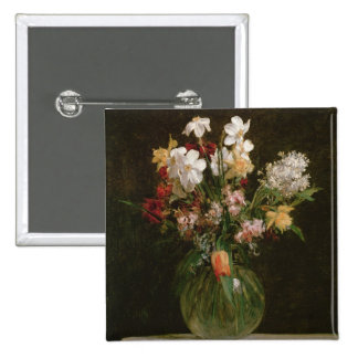 Narcisses Blancs, Jacinthes et Tulipes, 1864 Badge