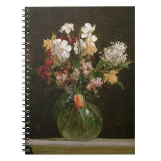 Narcisses Blancs, Jacinthes et Tulipes, 1864 Carnets