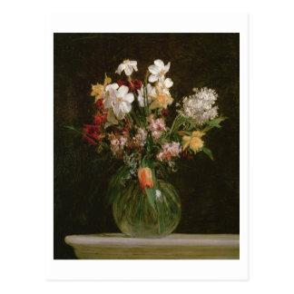 Narcisses Blancs, Jacinthes et Tulipes, 1864 Cartes Postales