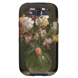 Narcisses Blancs, Jacinthes et Tulipes, 1864 Coque Galaxy S3