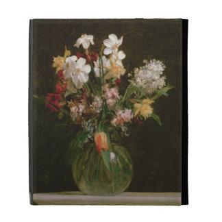 Narcisses Blancs, Jacinthes et Tulipes, 1864 Étui iPad Folio