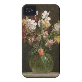 Narcisses Blancs, Jacinthes et Tulipes, 1864 Coque Case-Mate iPhone 4