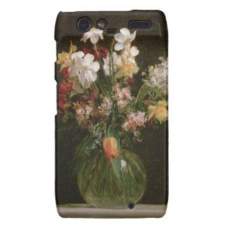 Narcisses Blancs, Jacinthes et Tulipes, 1864 Étui Droid RAZR