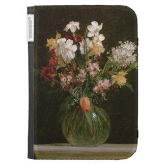 Narcisses Blancs, Jacinthes et Tulipes, 1864 Coque Kindle