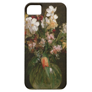 Narcisses Blancs, Jacinthes et Tulipes, 1864 Coque Barely There iPhone 5