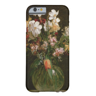 Narcisses Blancs, Jacinthes et Tulipes, 1864 Coque iPhone 6 Barely There