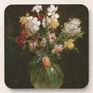 Narcisses Blancs, Jacinthes et Tulipes, 1864 Sous-bock
