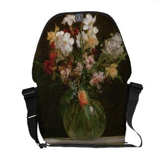 Narcisses Blancs, Jacinthes et Tulipes, 1864 Besaces