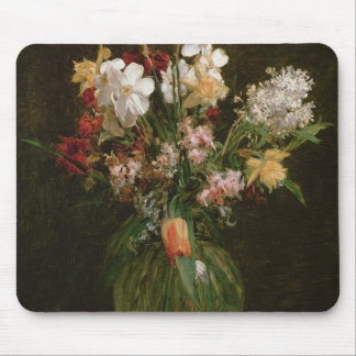 Narcisses Blancs, Jacinthes et Tulipes, 1864 Tapis De Souris