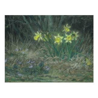 Narcisses et violettes, c.1867 cartes postales