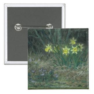 Narcisses et violettes, c.1867 pin's