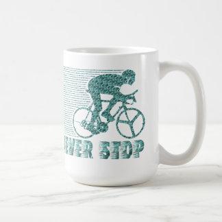 N'arrêtez jamais : Recyclage Mug
