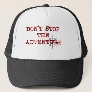 N'arrêtez pas la casquette de baseball d'aventure