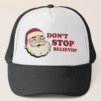 N'arrêtez pas le casquette de camionneur de
