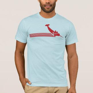 Narwhal à ailes par amour interdit t-shirt