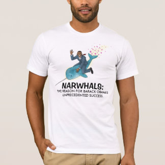 Narwhals pour le T-shirt d'Obama