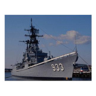 "NAS ""Anacostia"", ""USS Barry"", bateau commémoratif, Carte Postale"