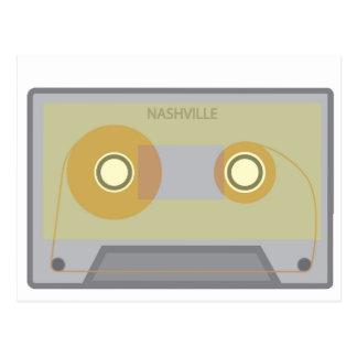 Nashville, carte postale vintage de cassette de