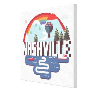Nashville dans la conception toile