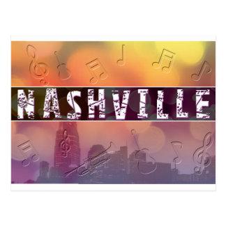 Nashville, rétro carte postale de TN