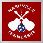 Nashville, Tennessee Etats-Unis Posters