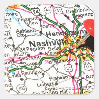 Nashville, Tennessee Sticker Carré