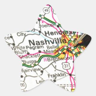 Nashville, Tennessee Sticker Étoile