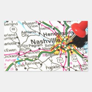 Nashville, Tennessee Sticker Rectangulaire