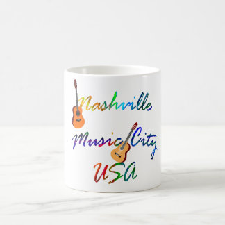 Nashville - ville Etats-Unis de musique Mug