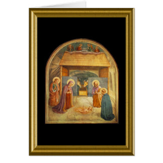 Natale de Buon - grêle Mary en italien Carte De Vœux