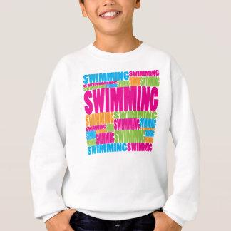 Natation colorée sweatshirt