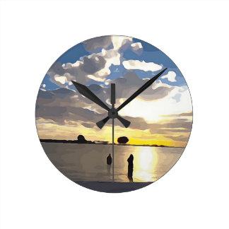 Natation dans Clearwater Horloge Ronde