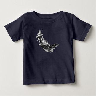 Natation de dauphin t-shirt pour bébé